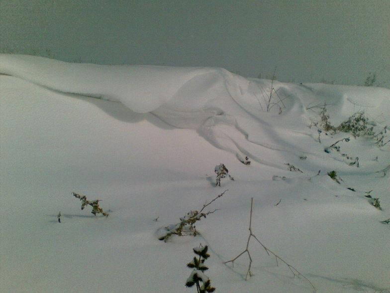 Snow waves!, La Plagne