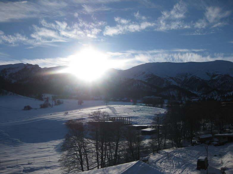 Bakuriani snow