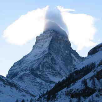 Funny Cloud, Breuil-Cervinia Valtournenche