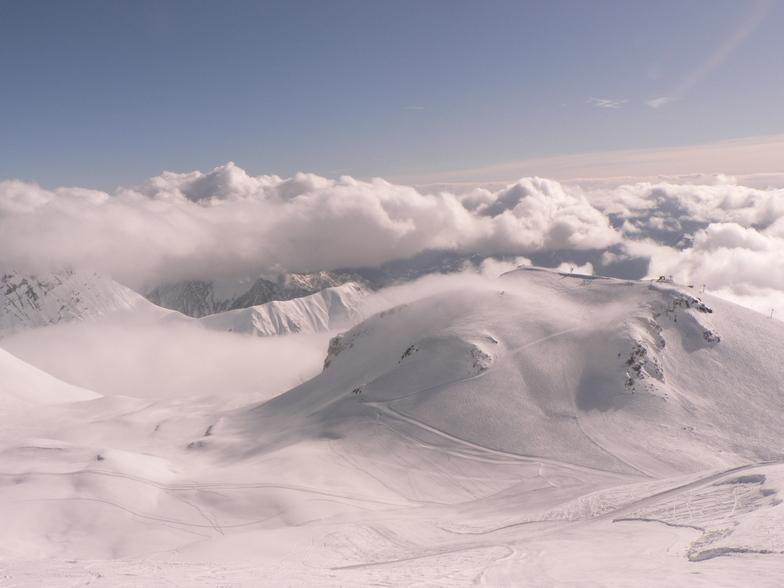 Gudauri snow
