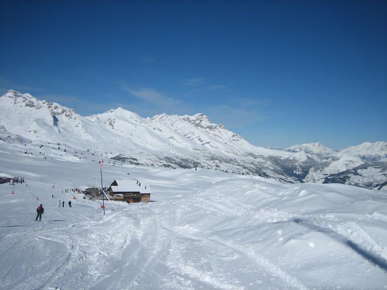 Sun, snow and ski, Dévoluy
