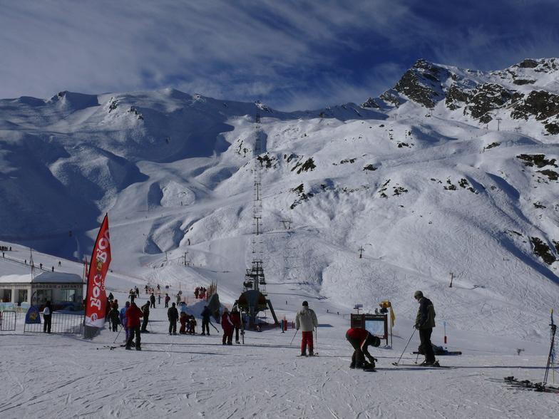 Cauterets snow