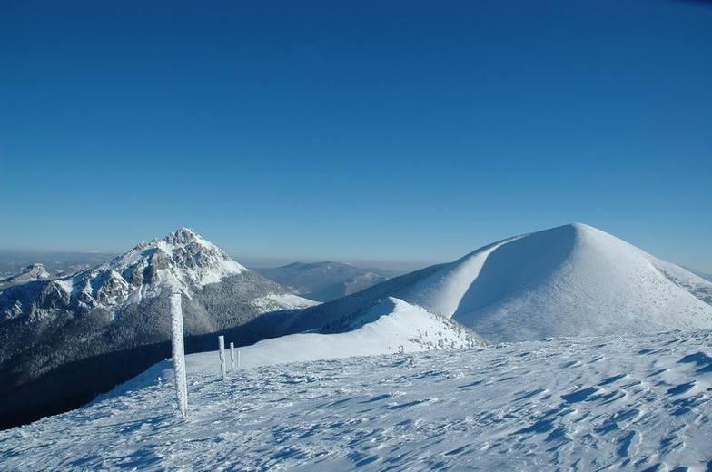Vratna Dolina snow