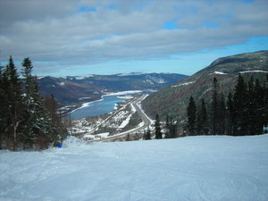 Marble Mountain Ski View of Humber River photo