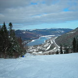 Marble Mountain Ski View of Humber River, Canada - Newfoundland