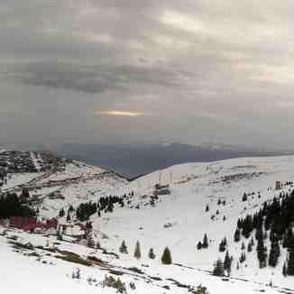 View to the slopes, Popova Shapka