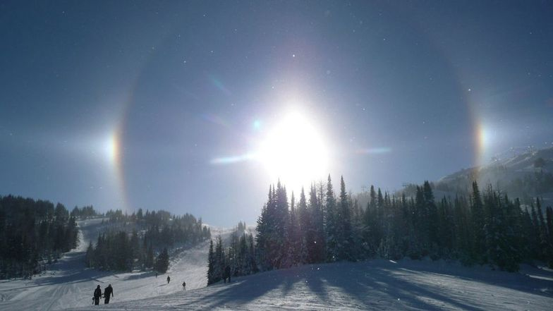 Sunshine Village snow