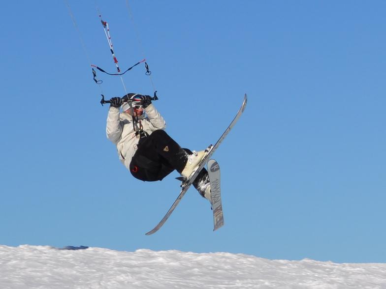 snowkite, Mt Voras Kaimaktsalan