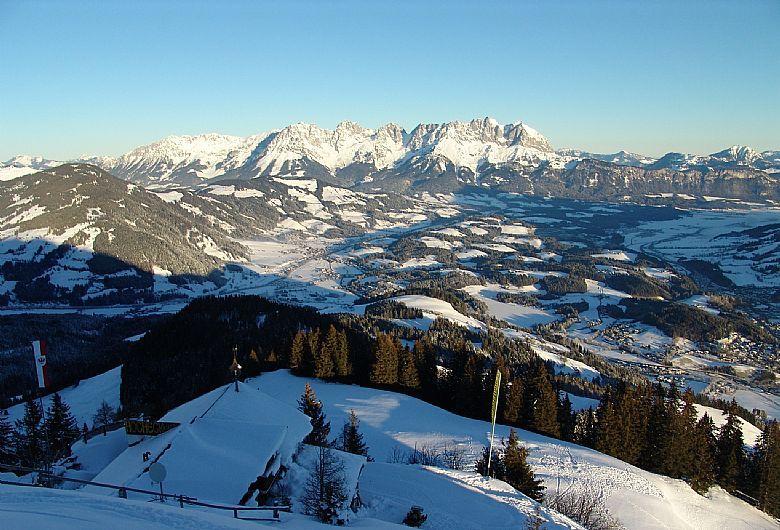 Panorama of the Wilden Kaiser, Kitzbühel