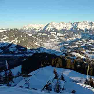 Panorama of the Wilden Kaiser, Kitzbühel
