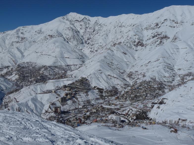 Shemshak snow