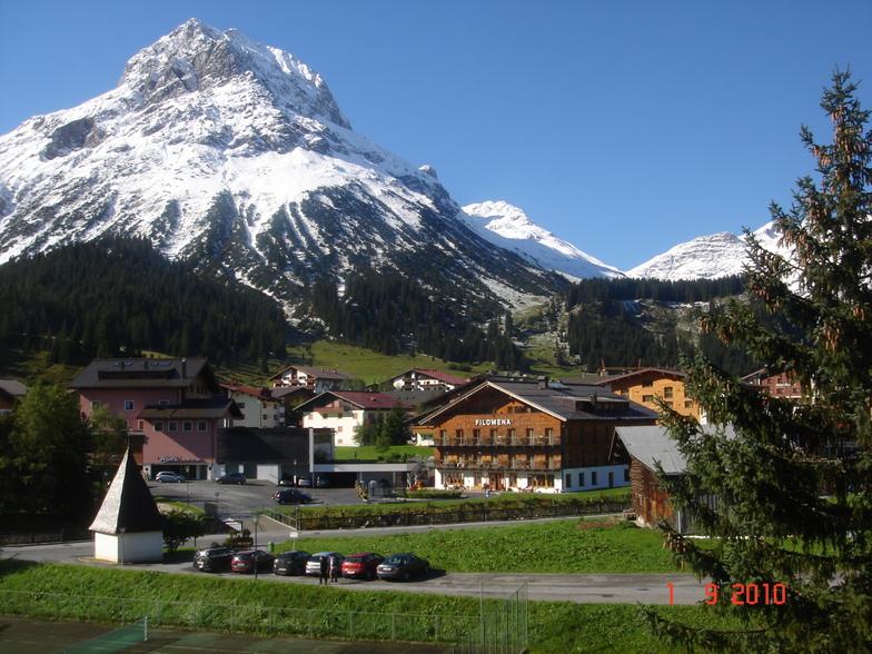 First snow - Lech
