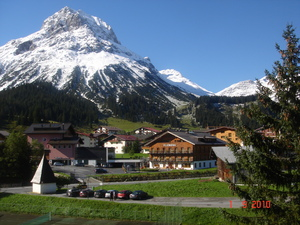 First snow - Lech photo