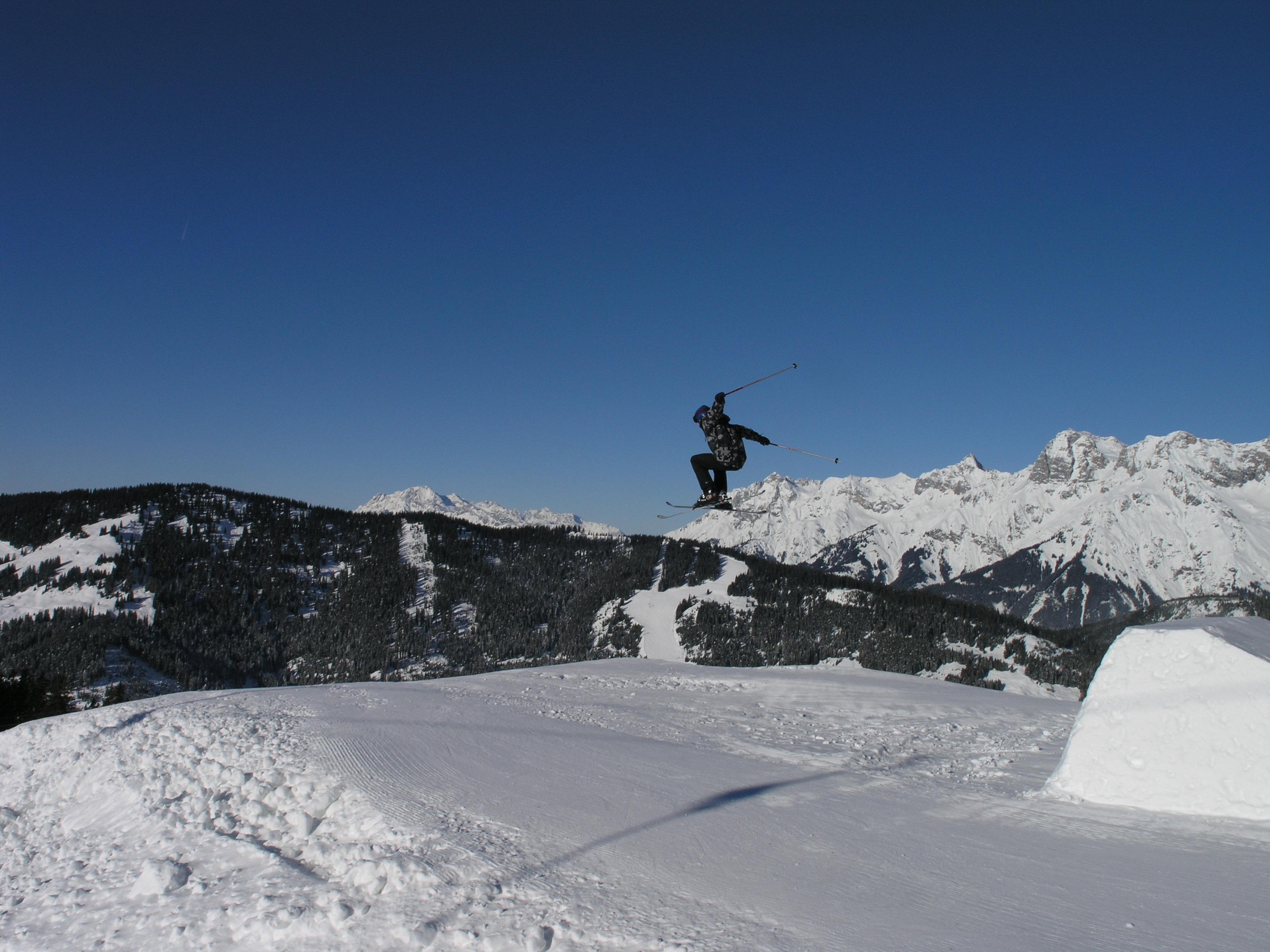 Nick getting Air!, Hochkönig