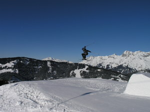 Nick getting Air!, Hochkönig photo