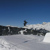 Nick getting Air!, Hochkönig