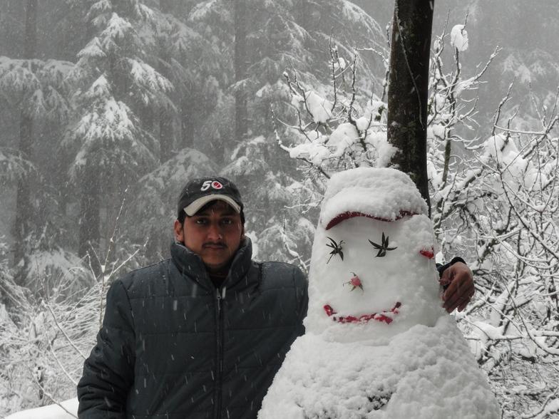 Manali (Himachal Heli-Ski) snow