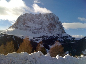 Amazing Langkofel, Val Gardena photo
