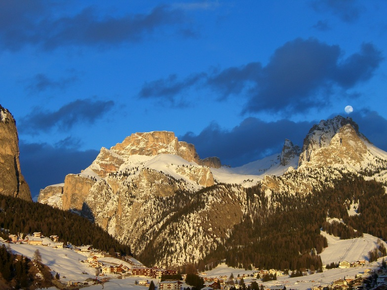 Moonlight over Selva!, Val Gardena