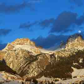Moonlight over Selva!, Val Gardena