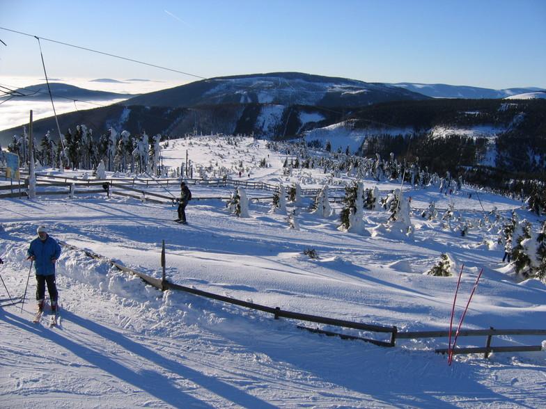Červenohorské Sedlo snow