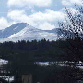 Pen-y-Fan from Brecon