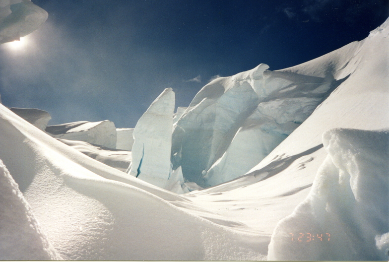 Aoraki-Mt Cook snow