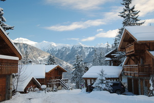 early 2010/2011 season, La Tania photo