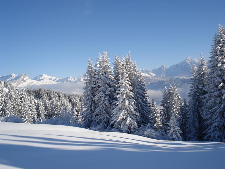 Megeve snow