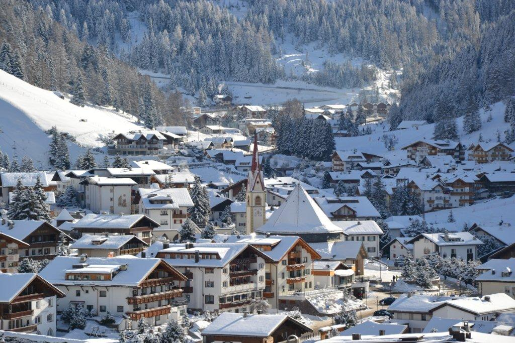 Val Gardena Ski Resort Photo