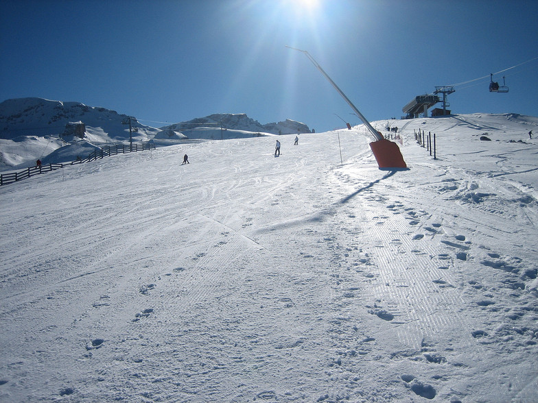 What a glorious day to ski !, Dévoluy