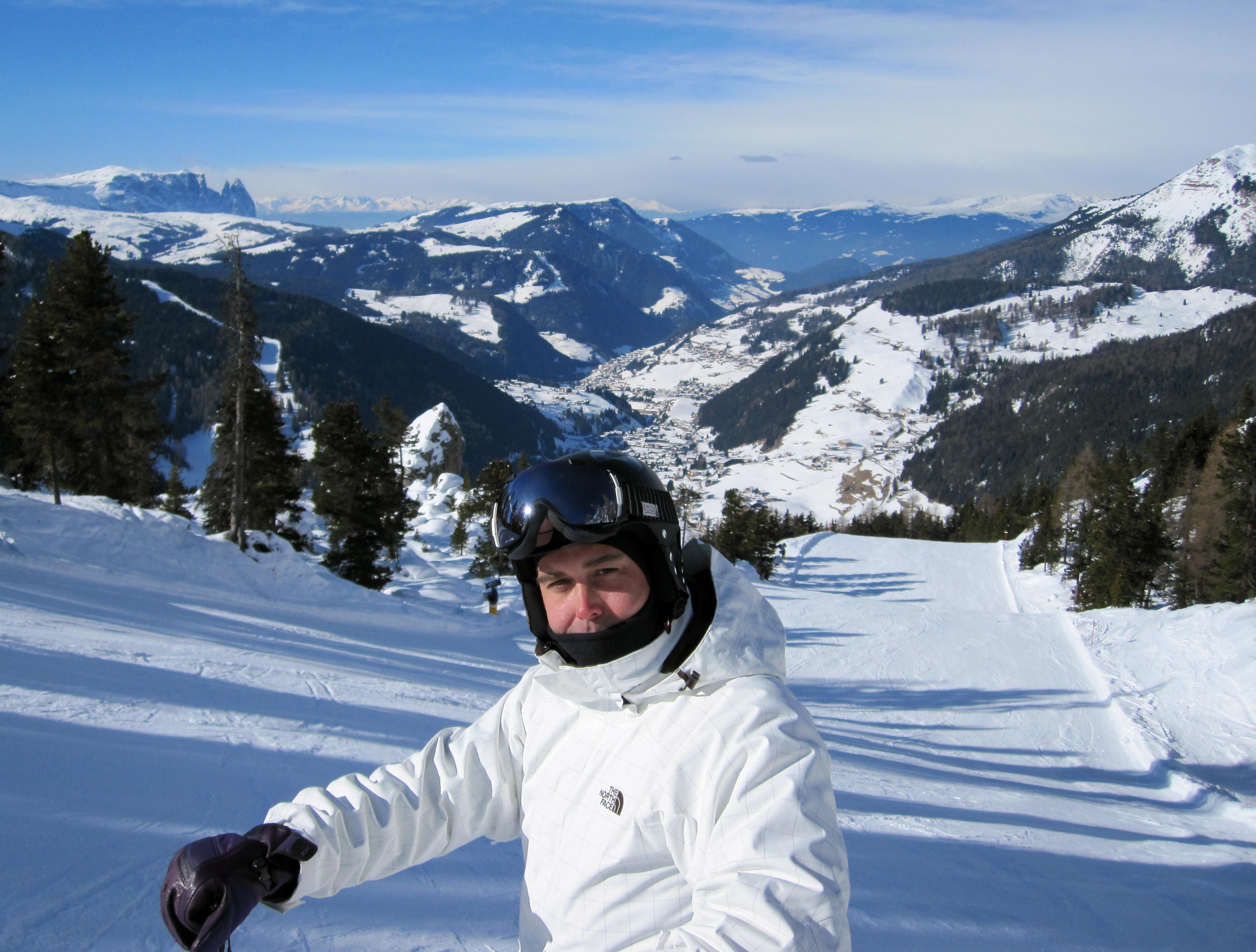 Ladies Downhill., Val Gardena