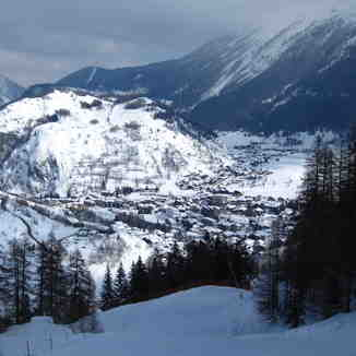 The village of La Thuile