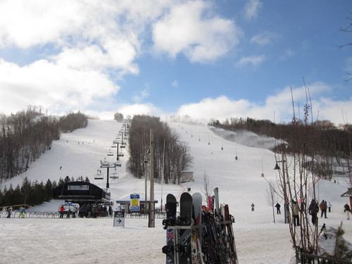 Blue Mountain Ski Resort by: robert smalley