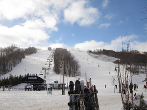 Blue Mountain Silver Bullet Chairlift photo