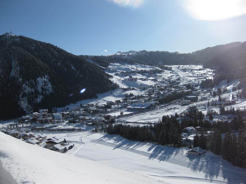 Corvara town, Corvara (Alta Badia)