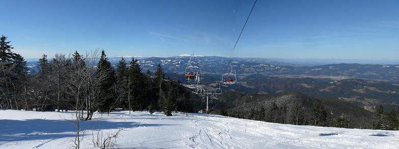 4-chair lift Kastivnik - Kope, Kope Mountain