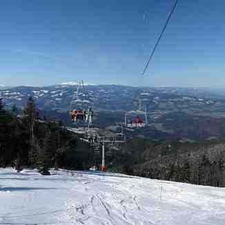 4-chair lift Kastivnik - Kope, Kope Mountain