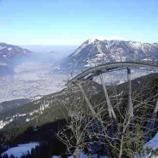 A photo from the top, Garmisch-Partenkirchen-Zugspitze