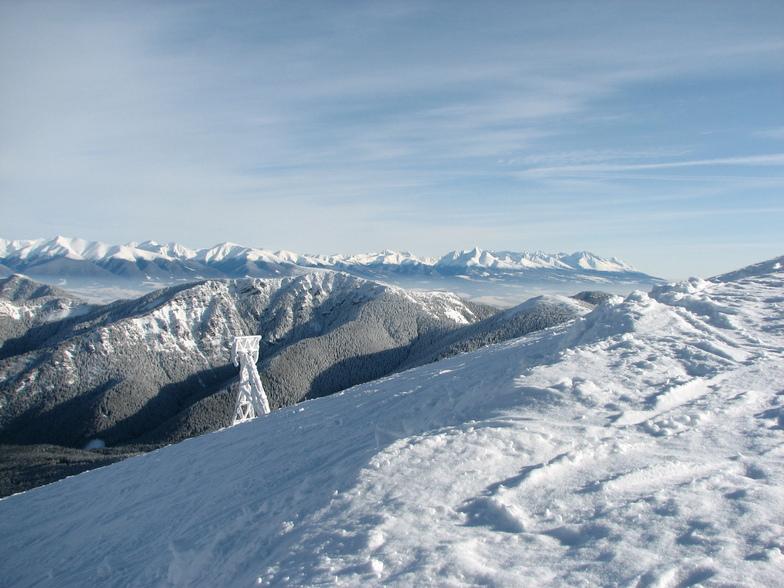 Perfect view on High Tatras, Jasná - Chopok