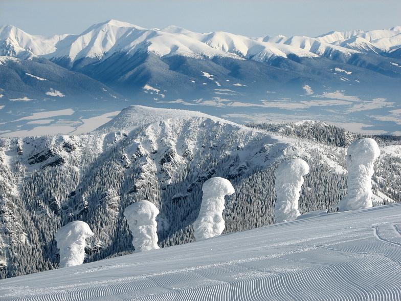 West Tatras from Chopok, Jasná - Chopok