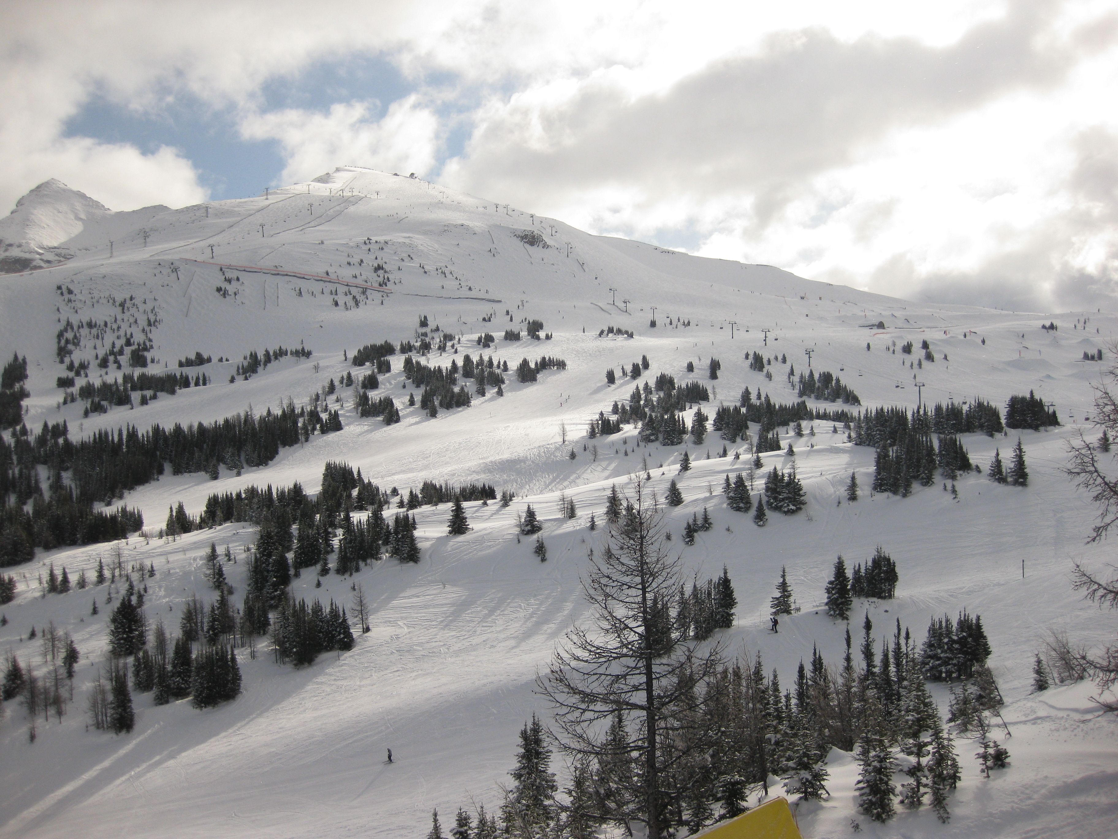 View of Lookout Mountain, Sunshine Village