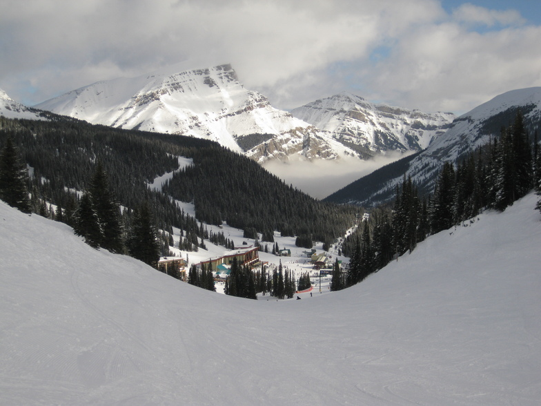 Strawberry run, Sunshine Village