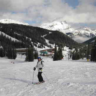 Off the Strawberry run, Sunshine Village
