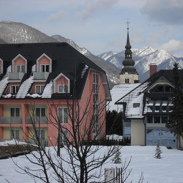 View from Vitranc Apartments 2010, Kranjska Gora