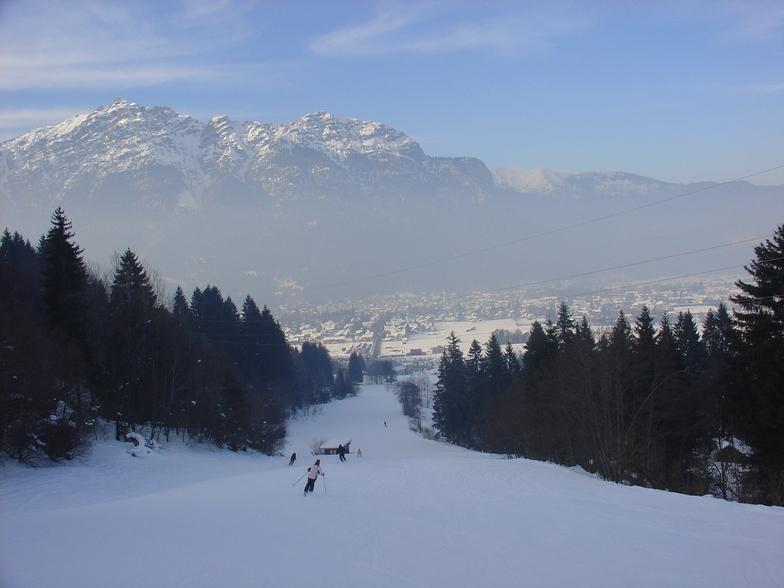 down to the village, Garmisch-Partenkirchen-Zugspitze