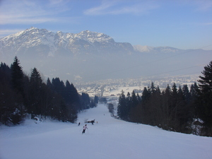 down to the village, Garmisch-Partenkirchen-Zugspitze photo