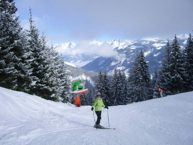location ski zell am see