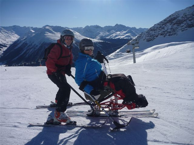 Caroline and Jane, Davos