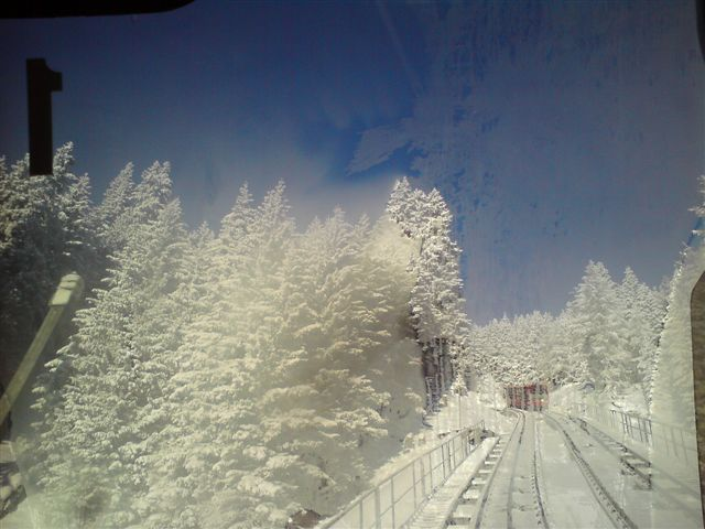 The Parsenn  Bahn, Davos